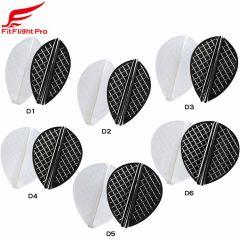 """Cosmo darts"" Fit Flight Pro D-Type [White/D Black] (预购)"