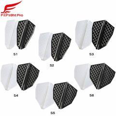 """Cosmo darts"" Fit Flight Pro S-Type [White/D Black] (预购)"