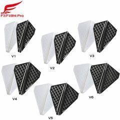 """Cosmo darts"" Fit Flight Pro V-Type [White/D Black] (预购)"