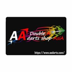 """Card"" AA darts Original Dartslive Card Black"