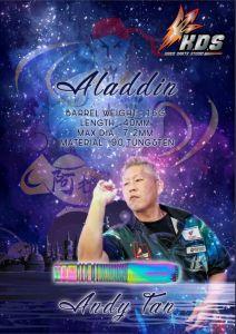 """K.D.S"" K Series - Aladdin (阿拉丁) Andy Tan 选手款 [2BA]"