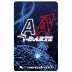 """Card"" AA darts Original Dartslive Card Ver.2 Blue"