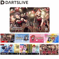 """""""限定"""" DARTSLIVE Card THE IDOLM@STER MILLION LIVE! 偶像大师 百万人演唱会!「D/Zeal」主题卡片"""