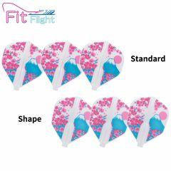 """""""Fit Flight (厚镖翼)"""" Printed Series Bloom [Standard/Shape]"""
