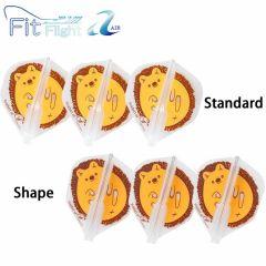"""""""Fit Flight AIR(薄镖翼)"""" Printed Series Hedgehog 刺猬 [Standard/Shape]"""