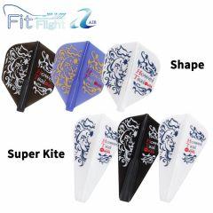 """Fit Flight AIR (薄鏢翼)"" COSMODARTS × 蔡子豪 (Howei Tsai) × DartsHive 选手款 MIX [Shape/Super Kite]"