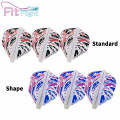 """""""Fit Flight(厚镖翼)"""" Printed Series Marble 大理石 [Standard/Shape]"""