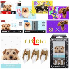 """DARTSLIVE"" L-Flight PRO Special Pack CARD 镖翼 + 卡片 + 主题<Dog(狗)>"