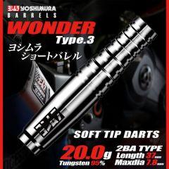 """Yoshimura"" WONDER Type3 [2BA] (可订购,2-4天会进货)"